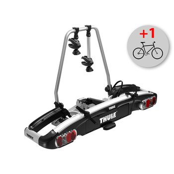 Велокрепление Thule EuroClassic G6 928 + Thule 9281 Bike Adapter — фото