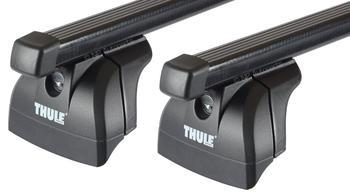 Багажник на интегрированные рейлинги Thule Squarebar для Ford Fiesta (Active)(mkVII) 2018→ — фото