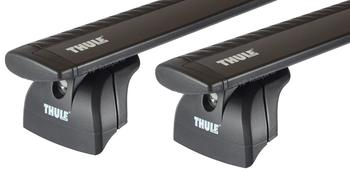 Багажник в штатные места Thule Wingbar Black для Lexus RX (XU10) 1998-2003; Jeep Commander (XK) 2006-2010 — фото