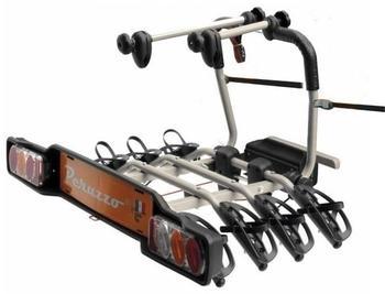 Велокрепление Peruzzo 706-4 Parma 4 + Peruzzo 661 Bike Adapter — фото