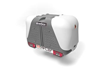 Бокс на фаркоп TowCar TowBox V2 Grey — фото