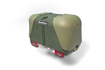 Бокс на фаркоп TowCar TowBox V2 Green — фото