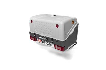 Бокс на фаркоп TowCar TowBox V1 Grey — фото