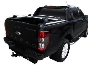 Багажник в штатные места Whispbar Flush Black для Ford Ranger (trunk)(T6) 2012→ — фото