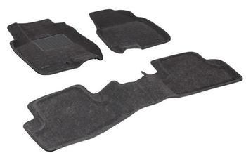 Двухслойные коврики Sotra 3D Classic 8mm Grey для Nissan Qashqai (mkI) 2007-2013 — фото