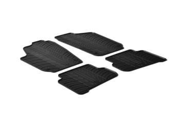 Резиновые коврики Gledring для Volkswagen Polo (mkV) 2009-2017 — фото