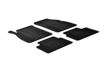 Резиновые коврики Gledring для Opel Insignia 2008-2013  — фото