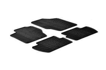 Резиновые коврики Gledring для Citroen C4 (mkI) 2004-2010 — фото