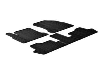 Резиновые коврики Gledring для Citroen C4 Picasso (mkI) 2006-2013 — фото