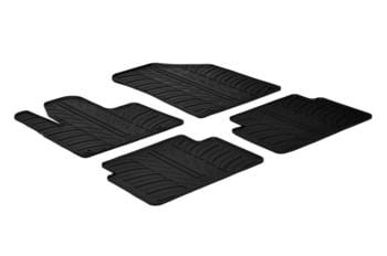 Резиновые коврики Gledring для Citroen C5 (mkII) 2008→ — фото