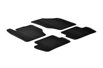 Резиновые коврики Gledring для Citroen C4 (mkII)(5 door) 2010→ / DS4 2010→ — фото