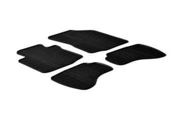 Резиновые коврики Gledring для Citroen C1 / Peugeot 107 / Toyota Aygo 2005-2014 — фото