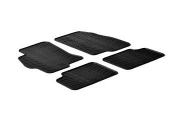 Резиновые коврики Gledring для Fiat Linea 2007-2015 — фото