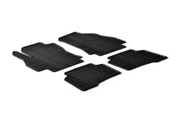 Резиновые коврики Gledring для Citroen Nemo / Fiat Qubo / Peugoet Bipper 2008→ — фото