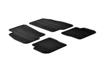 Резиновые коврики Gledring для Fiat Punto Evo 2010-2014 — фото
