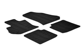 Резиновые коврики Gledring для Fiat 500L 2012-2017 — фото