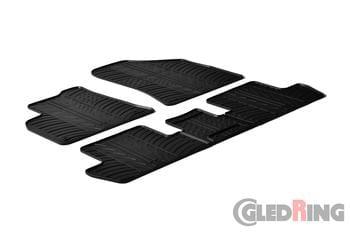 Резиновые коврики Gledring для Peugeot 3008 (mkI) / 5008 (mkI) 2009-2016 — фото