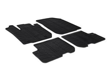 Резиновые коврики Gledring для Renault / Dacia Logan (mkII) 2013→ — фото