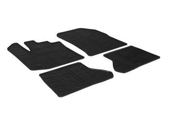 Резиновые коврики Gledring для Renault / Dacia Dokker 2013→ — фото