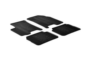 Резиновые коврики Gledring для Chevrolet Aveo (mkI) 2006-2011 — фото
