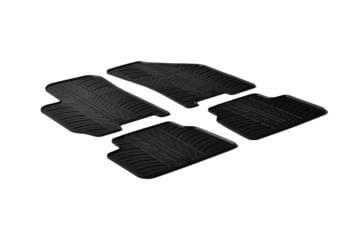 Резиновые коврики Gledring для Chevrolet / Daewoo Lacetti 2004-2011 — фото