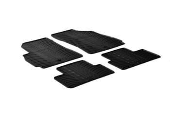 Резиновые коврики Gledring для Chevrolet Orlando 2010→ — фото