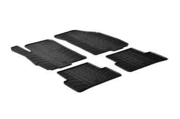 Резиновые коврики Gledring для Chevrolet Aveo (mkII) 2011→ — фото