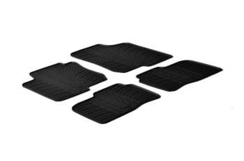 Резиновые коврики Gledring для Hyundai i30 (mkI) / Kia Cee'd (mkI) 2007-2011 — фото