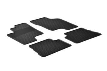 Резиновые коврики Gledring для Hyundai Getz 2002-2011 — фото