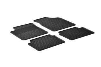 Резиновые коврики Gledring для Hyundai i10 (mkI) 2007-2014 — фото