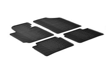 Резиновые коврики Gledring для Hyundai Veloster 2011→ — фото