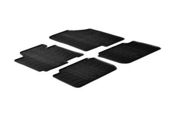 Резиновые коврики Gledring для Hyundai Elantra (sedan)(mkV) 2010-2015 — фото