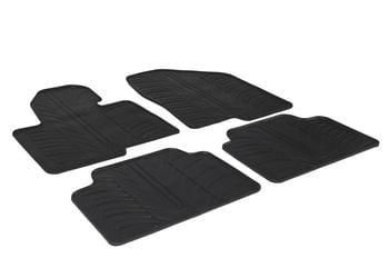 Резиновые коврики Gledring для Hyundai Santa Fe (mkIII) 2012→ — фото
