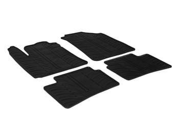 Резиновые коврики Gledring для Hyundai i10 (mkII) 2014→ — фото