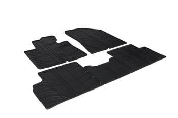 Резиновые коврики Gledring для Kia Carens (mkIII) 2013→ manual — фото