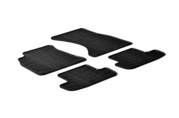 Резиновые коврики Gledring для Audi A4 (B8) / A5 Sportback (B8) 2007-2016 — фото