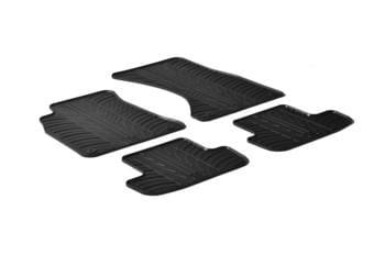 Резиновые коврики Gledring для Audi A5 (B8)(coupe) 2007-2016 — фото
