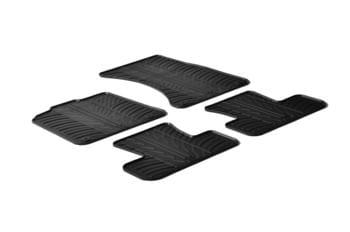 Резиновые коврики Gledring для Audi Q5 (mkI) 2008-2017 — фото