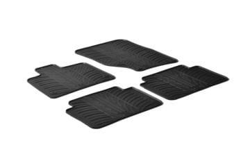 Резиновые коврики Gledring для Audi Q7 (mkI) 2006-2015 — фото