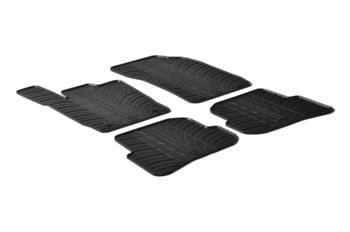 Резиновые коврики Gledring для Audi A1 (3 door) 2010→ — фото