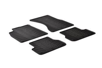 Резиновые коврики Gledring для Audi A6 (C7)(mkIV) / A7 (4G) 2011-2018 — фото