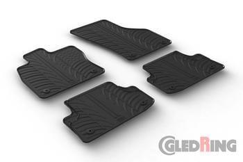 Резиновые коврики Gledring для Audi A3 (sedan & hatch) 2012→ — фото