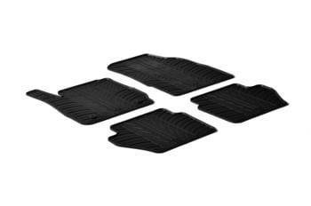 Резиновые коврики Gledring для Ford Fiesta (mkVI) 2008-2017 — фото