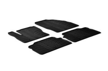 Резиновые коврики Gledring для Ford Kuga (mkII) 2008-2011 / C-Max (mkI) 2003-2010 — фото