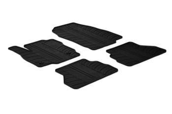 Резиновые коврики Gledring для Ford B-Max (mkI) 2012-2015 (2 clips) — фото