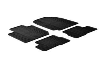 Резиновые коврики Gledring для Nissan Micra (mkIII) 2003-2010 — фото