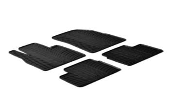 Резиновые коврики Gledring для Nissan Micra (mkIV) 2011-2017 — фото