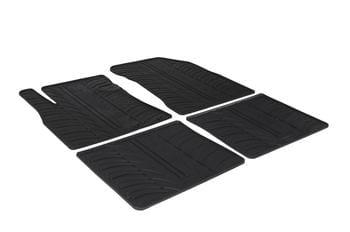 Резиновые коврики Gledring для Nissan Note (mkII) 2013→ — фото