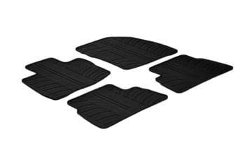 Резиновые коврики Gledring для Honda Civic (5 door)(mkVIII) 2006-2011 — фото