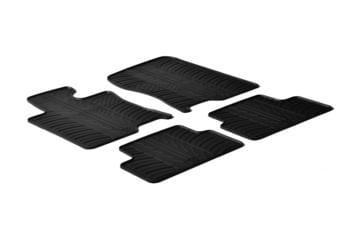 Резиновые коврики Gledring для Honda Accord (mkVIII) 2008-2015 — фото